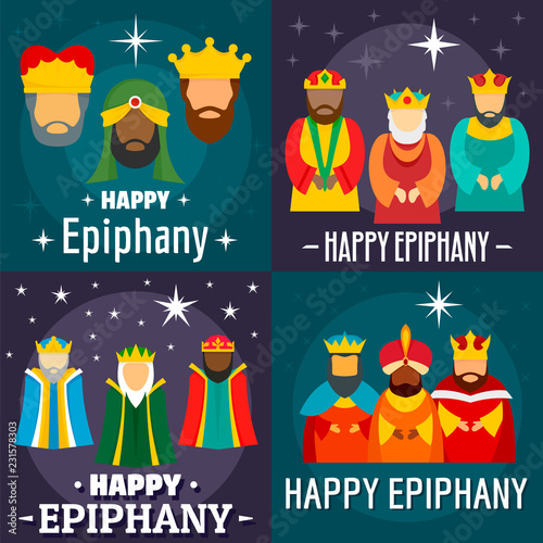 Photo Epiphany banner set