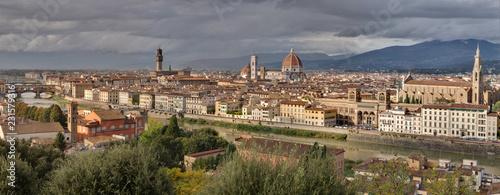 Aluminium Prints Florence Panorama de Florence -Toscane - Italie