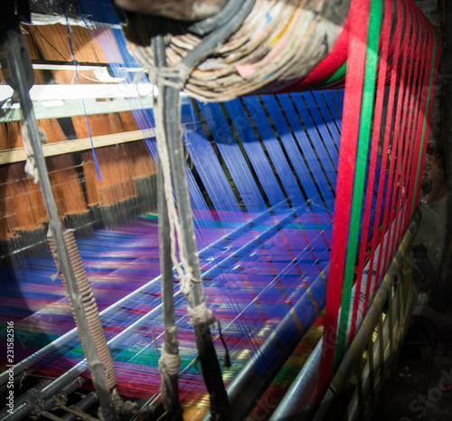 Fotografie, Obraz  La industria de la seda