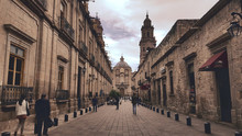 Morelia Alley Leading To Cathe...