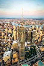 Lower Manhattan And Financial ...
