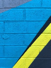 Painted Wall: Colorful Abstrac...