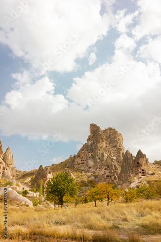 Garden Poster Public places Goreme open air museum Cappadocia Turkey rock formations