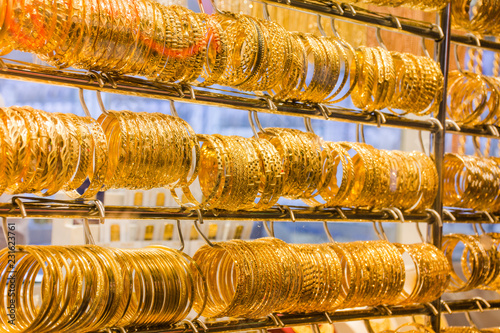 Gold Souk, Dubai - U.AE. Canvas Print