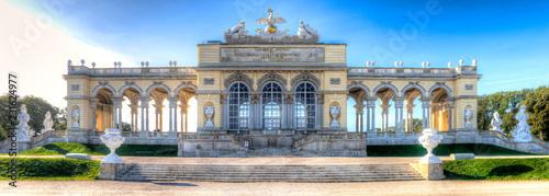 Glorietta w parku pałacu Schönbrunn w Wiedniu, stolicy Austrii