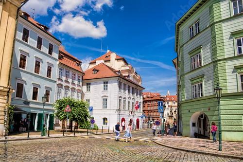 In de dag Centraal Europa Prag