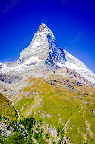 Photo Zermatt, Matterhorn, Switzerland
