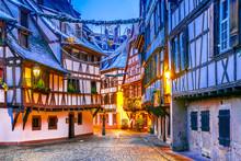 Strasbourg, Alsace, France - Capitale De Noel
