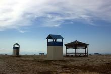 Empty Beach In Greece. Off Sea...