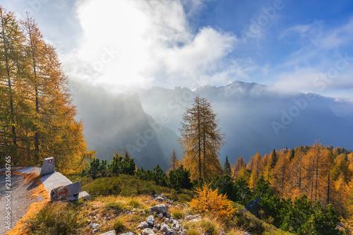 Fototapety, obrazy: Mangart Saddle, Julian Alps, Slovenia