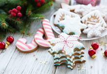 Christmas Cookies And Christma...