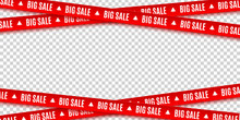 Red Ribbons For Christmas Sale...