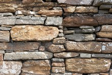 Old Stone Wall, Background Ima...