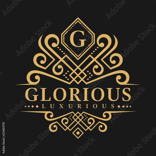 Photo  Letter G Logo - Classic Luxurious Style Logo Template