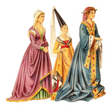 Noblewomans (Late Middle Ages)...