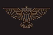 Owl Logo- Vector Illustration