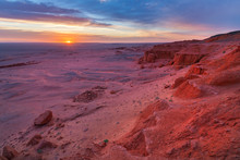 Photo Of The Flaming Cliffs In...