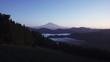 静岡県清水吉原から夜明けの富士山