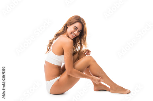Photo Woman Feeling Confident In Her Own Body