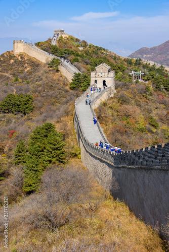 Fotografie, Obraz  Great Wall in Badaling