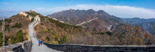 Photo sur Toile Muraille de Chine Great Wall in Badaling