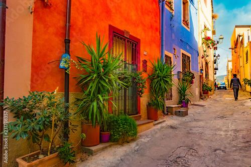 Alghero old town, Italy