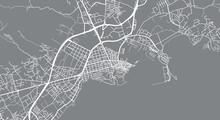 Urban Vector City Map Of Ibiza...