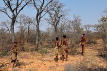 Volksstamm Der San In Namibia