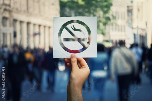 Poster Bar no smoking