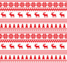 New Year's Christmas Pattern P...