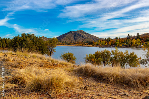 Fototapeta Lake Cuyamaca View obraz