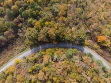 Blue Ridge Parkway In Virginia...