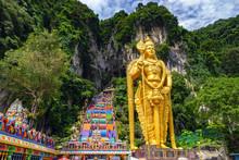 Batu Cave In Malaysia, Hinduis...