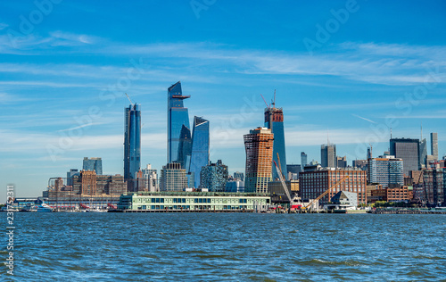 Obraz na plátne Cityscape of new skyscrapres in  Hudson Yards, New York.