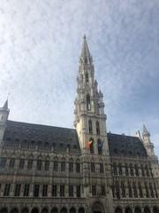 Fototapeta Splendida vista della Grande Place, Bruxelles, Belgio