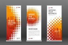 Construction Roll Up Banners D...