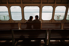 Engagement Session On The Ferry