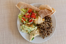 Savory Meal On A Plate