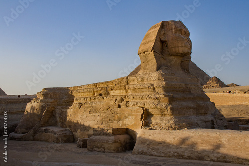 Fotografie, Obraz  Reclining Great Sphinx at the Great Pyramids of Giza Complex, Giza, Egypt