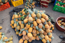 A Pile Of Pineapple