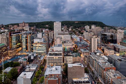 Fotografie, Obraz  Centre Ville de Montreal