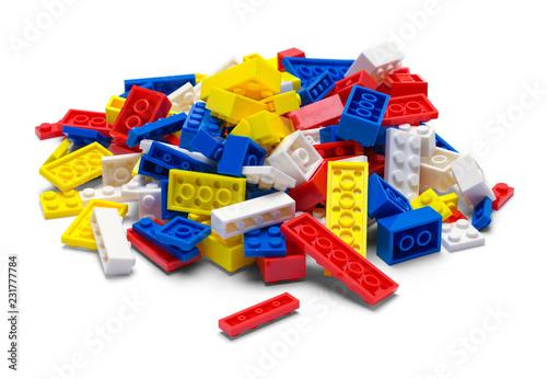 Fotografía  Pile of Toy Blocks