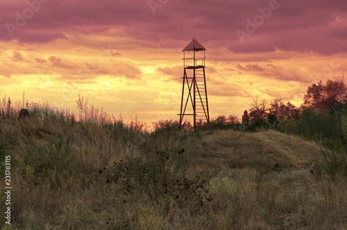 Fototapeta Watchtower