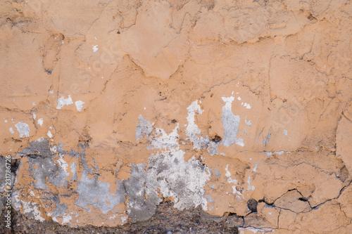 Foto auf AluDibond Alte schmutzig texturierte wand Damaged Cement II Texture
