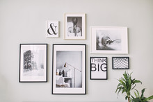 Different Size Framed Photos H...