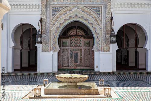 Cuadros en Lienzo  Qarawiyyin mosque, Fez, Morocco, 2017