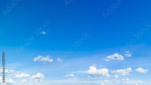 Fotografia, Obraz  Blue sky natural background.