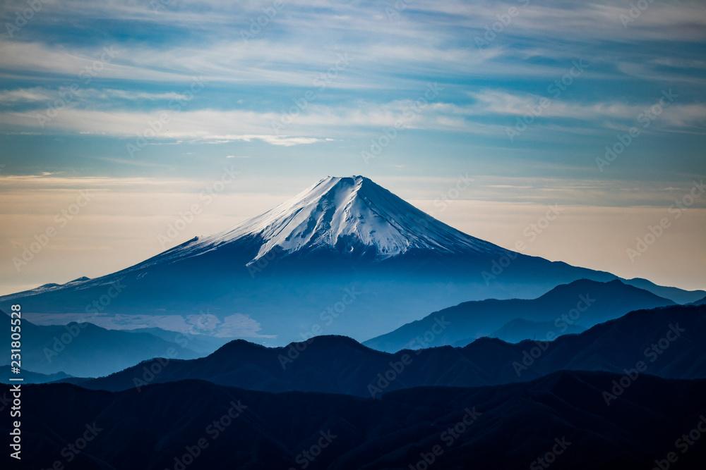 Fototapeta 富士山