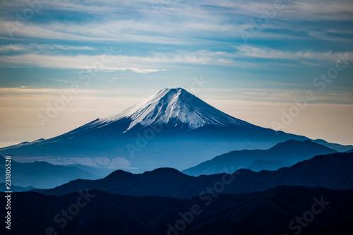 富士山 Fotobehang