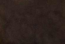 Dark Brown Matt Suede Fabric C...
